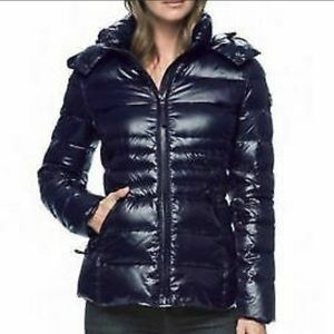 ANDREW MARC 650 Fill Down Hooded  Puffer Jacket